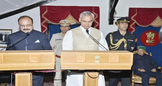 HP पब्लिक सर्विस कमिशन के अध्यक्ष पद की शपथ ली मेजर जनरल राणा ने, कई थे दावेदार