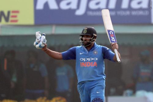 भारत ने जीता दूसरा वन डे मैच, रोहित ने जड़ा दोहरा शतक