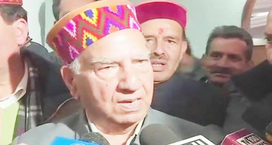 BJP में CM की कुर्सी की खातिर धूमल व जयराम समर्थकों ने पर्यवेक्षक घेरे, पार्टी फजीहत की ओर, शांता  का श्राप