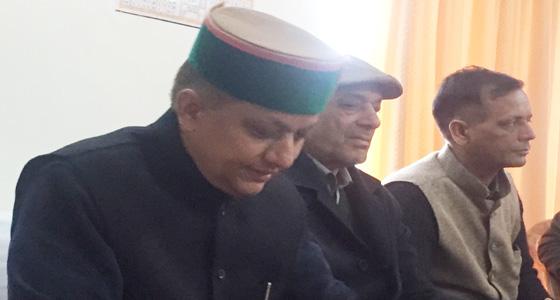 bjp के CM FACE धूमल को हराने वाले राणा के जयराम सरकार पर संगीन इल्जाम