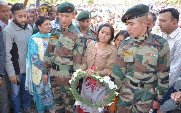 शहीद जोरावर सिंह को श्रद्धांजलि