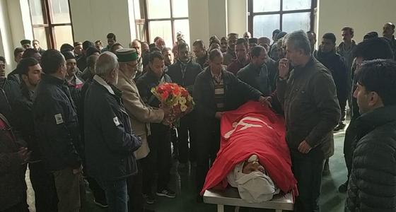 HP वामपंथ के हस्ताक्षर कामरेड मोहर सिंह का निधन, लाल झंडे में IGMC को देहदान
