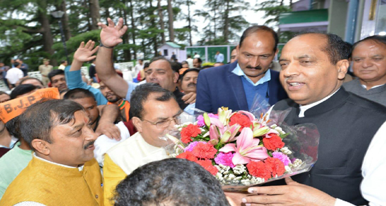 HP:CM जयराम छाए,वीरभद्र के गढ़ में भयंकर सेंध ,BJP के अनुराग, किश्न कपूर, सुरेश और रामस्वरूप की आंधी