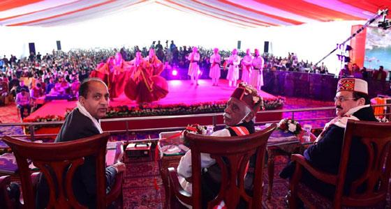 हिमाचल दिवस: अमित शाह की गैर मौजूदगी में हर्षोल्लास से मनाया गया स्वर्ण जयंती समारोह