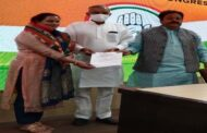 शुक्ला व बंसल ने दिल्ली में दी भाजपा की बागी दयाल प्यारी को कांग्रेस में एंट्री